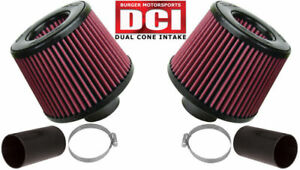 Bms N54 Dual Cone Performance Intake For Bmw Red Filters