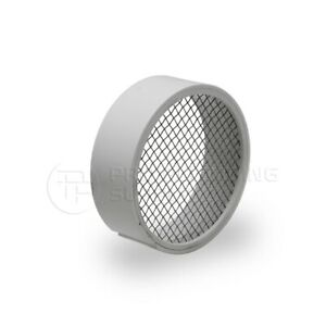 Raven R1508 Pvc Termination Vent Stainless Screen W Condensation Slot 2 Inch