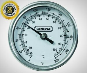 General Tools Long Stem Agricultural Thermometer General Tool Instruments New