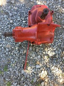 1948 Ih Farmall Tractor Power Take Off Side Pulley