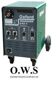 Oxford Mig Welder Migmaker 240 1 Single Phase Machine Only 1 In Stock