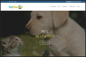 Pet Supplies Website Earn 362 16 A Sale free Domain free Hosting free Traffic