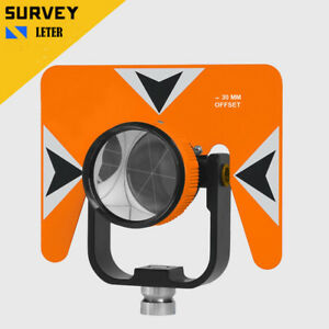 New All metal 62mm Total Station Prism Trimble Topcon Sokkia Compatible
