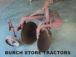 3 Point Hitch Dearborn Double Disc Turning Plow