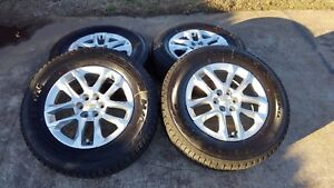 18 Chevy Traverse Gmc Acadia 2018 Oem Gm Wheels Rims Tires New 2015 2016 2017
