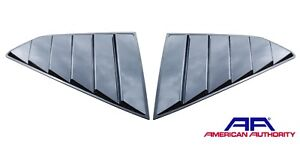 2016 2018 Camaro 1 4 Window Louvers American Authority Abs Painted