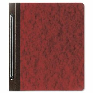 7510002814313 Report Cover 8 1 2 X 11 Red 6 Capacity 25 box