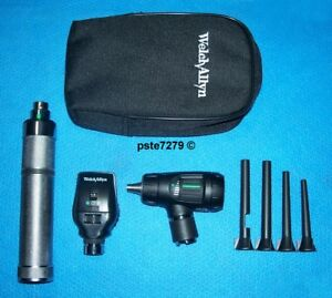 Veterinary Diagnostic Set Macroview Otoscope Coaxial Ophthalmoscope Specula s