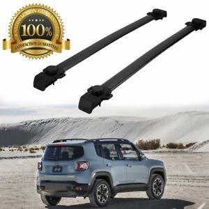 Usa 150lbs Roof Rack Cross Bars Cargo Basket Carrier For Jeep Renegade 2014 2018