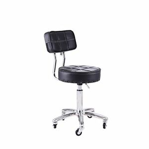 Stool Bench Mechanics Chair Swivel Rolling Drafting Adjustable Seat Work Shop