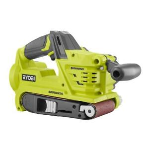 Ryobi 18V P450 Cordless Brushless Belt Sander with Dust Bag Bare Tool - NEW !!!!