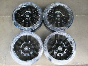 2014 2017 Toyota 4runner Factory 20 Wheels Oem 69561 New Black Tacoma Tundra