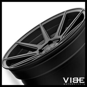 22 Velgen Vmb9 Black Concave Wheels Rims Fits Dodge Challenger Charger 300c