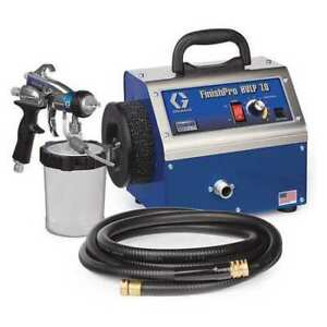 Graco 17n263 Hvlp Paint Sprayer 4 Stages 1 Qt Tank
