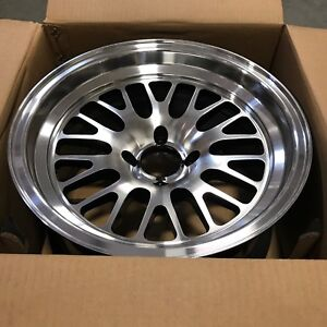 15x8 Xxr 531 Black Machine Face And Lip Deep Dish Step Wheel Rim 4x100 Et 0