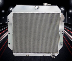 3 Row Aluminum Performance Radiator For 1960 62 Chevy Truck