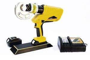 Battery Powered Hydraulic Cable Crimper 16 400mm2 C head yd 400d