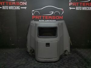 2002 Ford Van E250 Center Front Console Dog House With Cup Holder Graphite 2