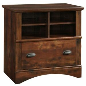 Pemberly Row 1 Drawer Lateral File Cabinet In Curado Cherry