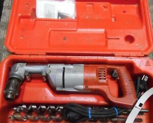 Milwaukee 1107 1 1 2 Heavy Duty Two Speed Right Angle Drill case