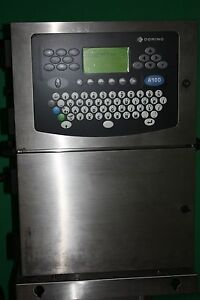 Domino A 200cij Inkjet Printer Used Known Funtional