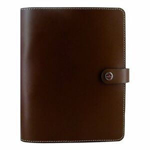 Filofax The Original Leather Organizer Retro Brown A5 8 25 X 5 75 Any Year P