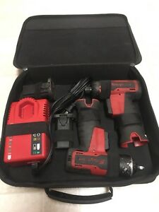 Snap On Cordless Impact Wrench Ct625 Screwdriver Cts661 W charger Batteries