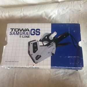 Towa Samurai Gs Price Gun Pricing Label 1 Line l 111