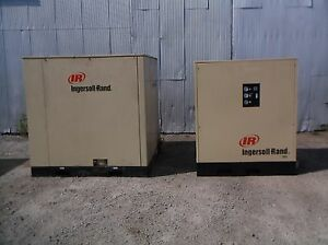Ingersoll Rand Ssr hp100 Rotary Screw Air Compressor 100 Hp With Dryer Tms 0540