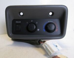 Oem 01 02 03 04 05 06 Mitsubishi Montero Xls Limited Rear Climate Control Switch