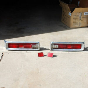 Toyota Corona Mark Ii 2 71 72 Tail Lights Rt63 Rt62 4dr