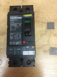 Square D Hdl26100 2 Pole 100 Amp Powerpact Circuit Breaker New No Box 20