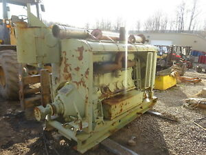 Murphy Mp 121 Diesel Engine Power Unit W Pto Clutch Runs Nice Mp121 Rare