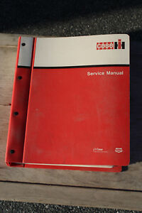 Case ih 8309 And 8312 Disc Mower conditioners Original Service Manual 8 95590