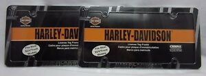 2x Harley davidson Chroma 42526 Accessories Accent License Plate Frames