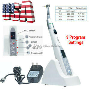 Ups Azdental Endodontic s Treatment Reciprocation Endo Motor 9 Program Settings