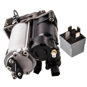 Air Ride Suspension Compressor Assembly W Relay For Mercedes Gl450 07 12
