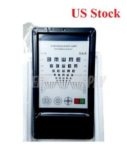 Near Led Optical Visual Chart Lamphouse Optometry Tester Mini Vision Chart