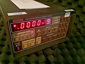 Keithley 220 Programable Current Source Calibrated And Comes With Warranty