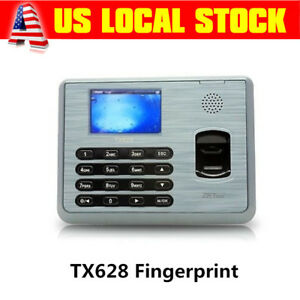 Zksoftware Tft Usb Tcp ip Employee Payroll Fingerprint Time Attendance Clock