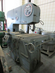 Doall 3612 3 36 Vertical Band Saw