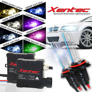 Xentec Xenon Light Hid Kit For 2001 2017 Toyota Highlander 9003 9005 9006 H4 H11