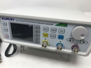 Kuman 30mhz High Precision Dual channel Dds Arbitrary Signal Waveform Generator