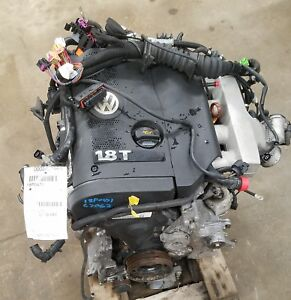 2004 Vw Passat 1 8 Engine Motor Assembly 172 330 Miles Turbo Gas No Core Charge