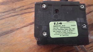 Cutler Hammer Qbhw2050 New Circuit Breaker 50a 2 Pole 120 240vac Free Expedited