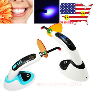 Rechargeable 2000mw Cordless Dental Led Curing Light Lamp whitening Accelerator