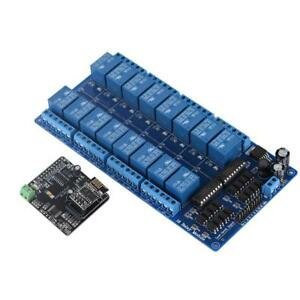 Diy Wifi Io Controller 16 Channel Relay Module For Arduino Development Board