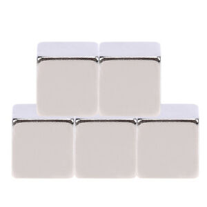 100pcs N52 Large Strong Block Square Cube Rare Earth Neodymium Magnets 9x9x9mm