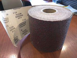 20 Grit Norton Durite Floor Sanding Roll 8 X 25 Yards