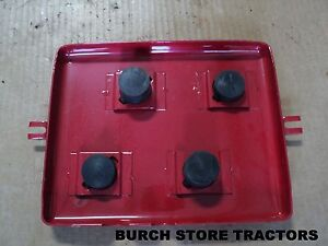 New Original Style Battery Box Lid With Spacers For Farmall Cub Cub Lo Boy